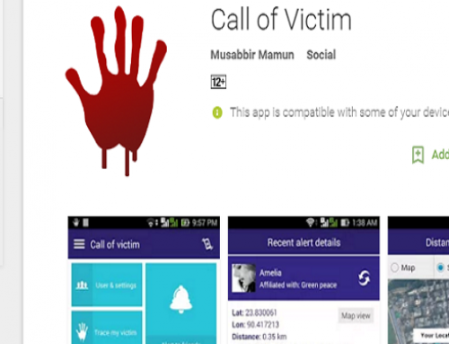 Call of Victim(Own App Project )